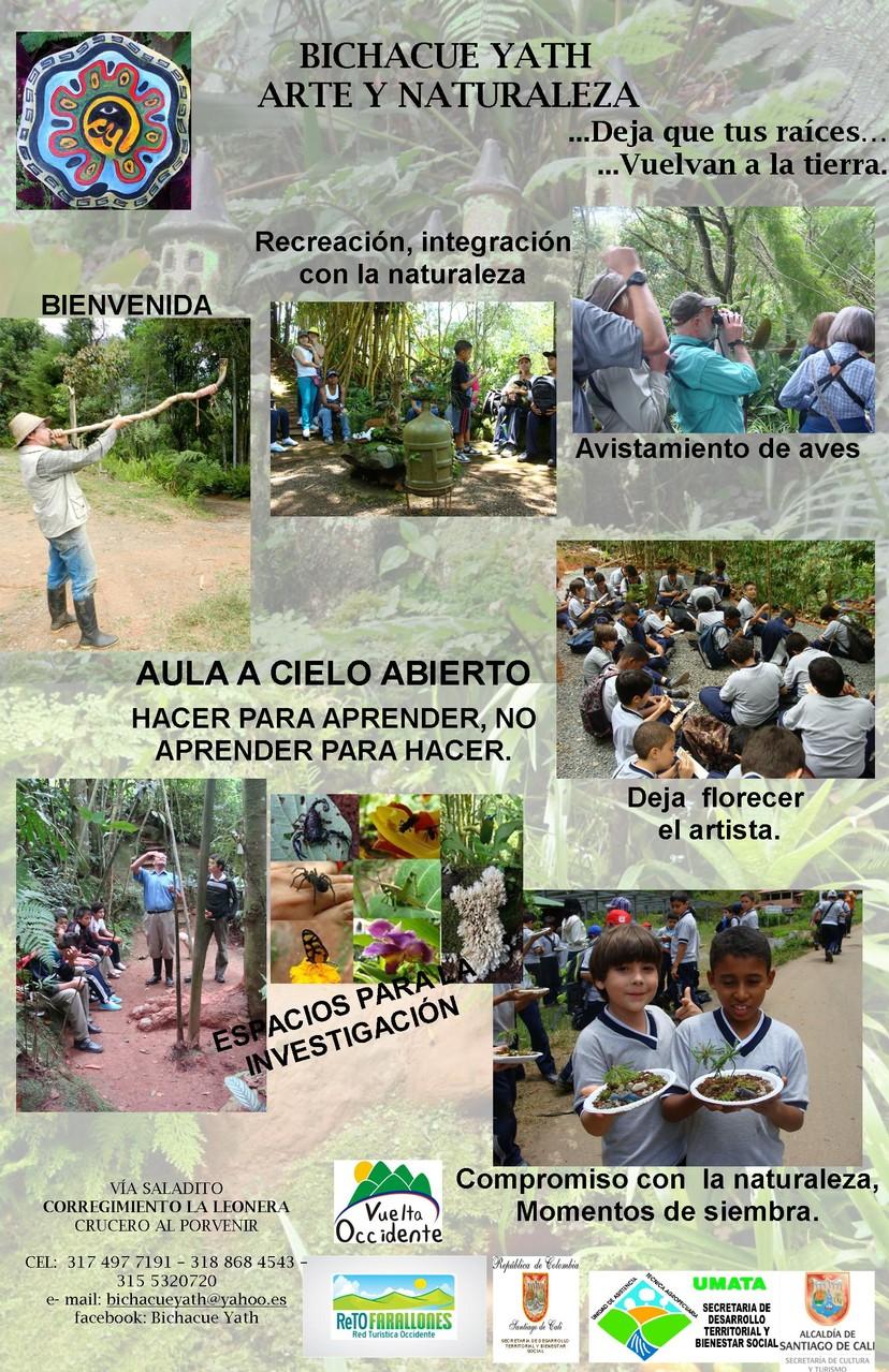 compartiendo con todo aquel que desee aprender de la naturaleza
