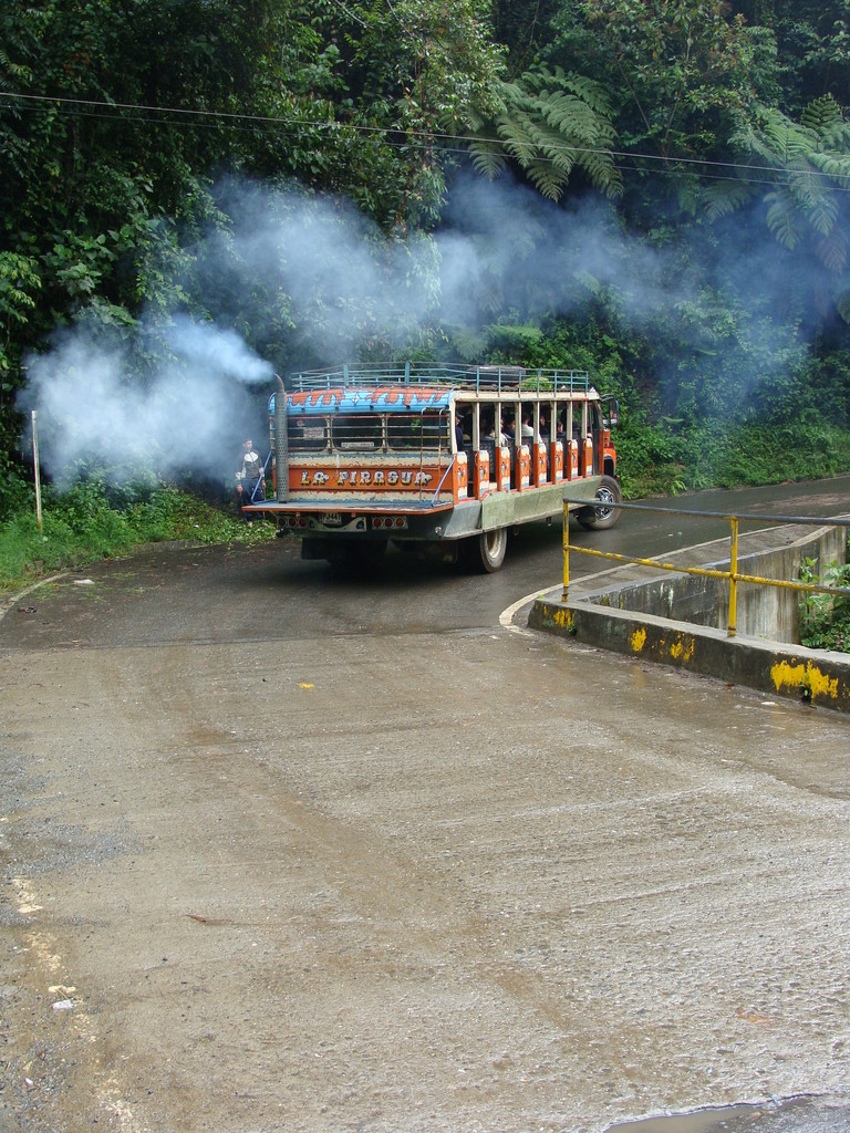 Uno de nuestros medios de transporte  La Sultana del Valle.