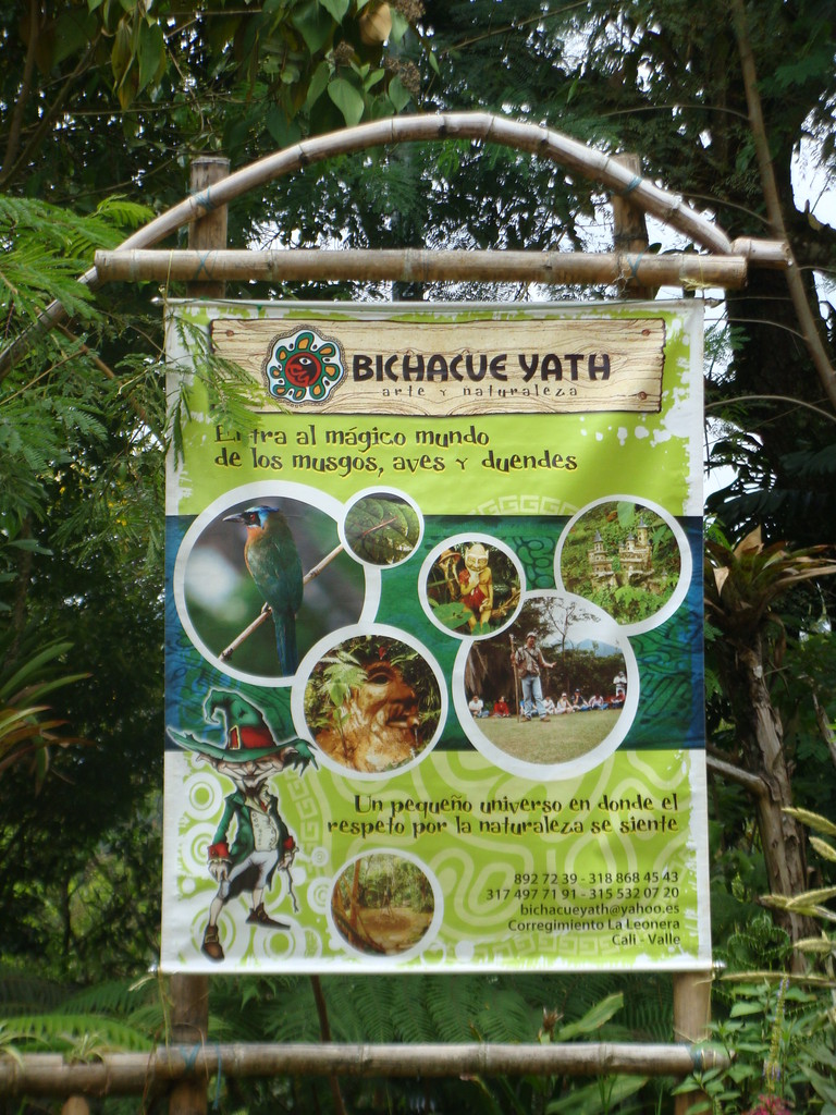 Pendón de Identificación Bichacue Yath Arte y Naturaleza