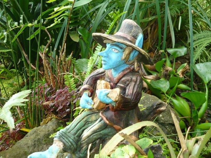 Nicanor el duende cantor, guardian del agua.