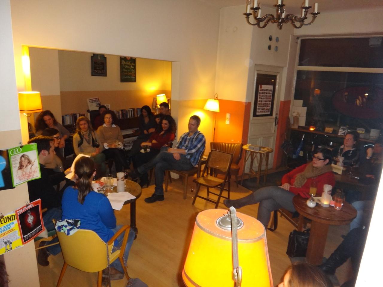 spanische Lesung am 29.01.2013 im Mathilde Café