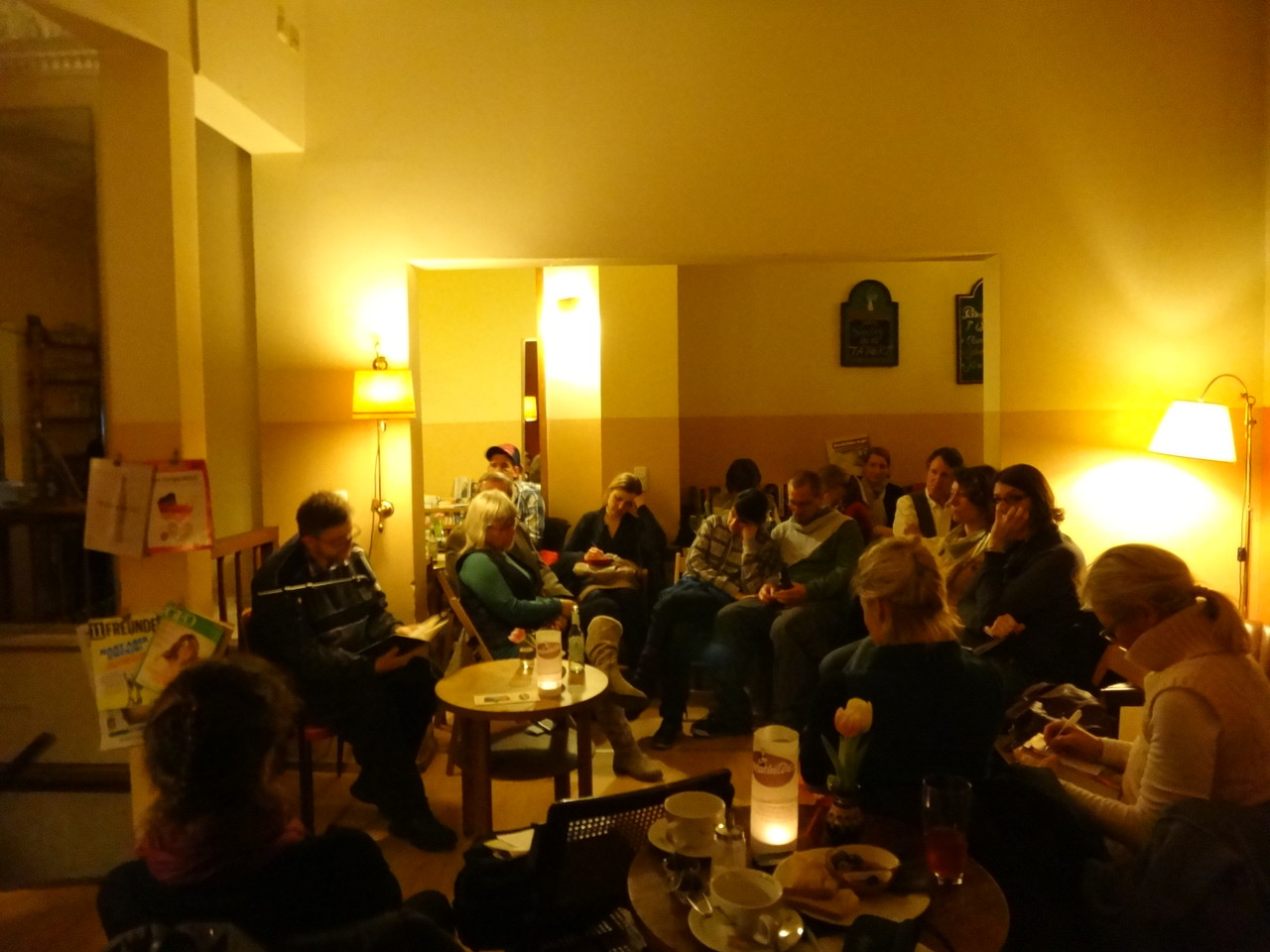 Poetry Slam in der Mathilde Dienstag 05.02.2013