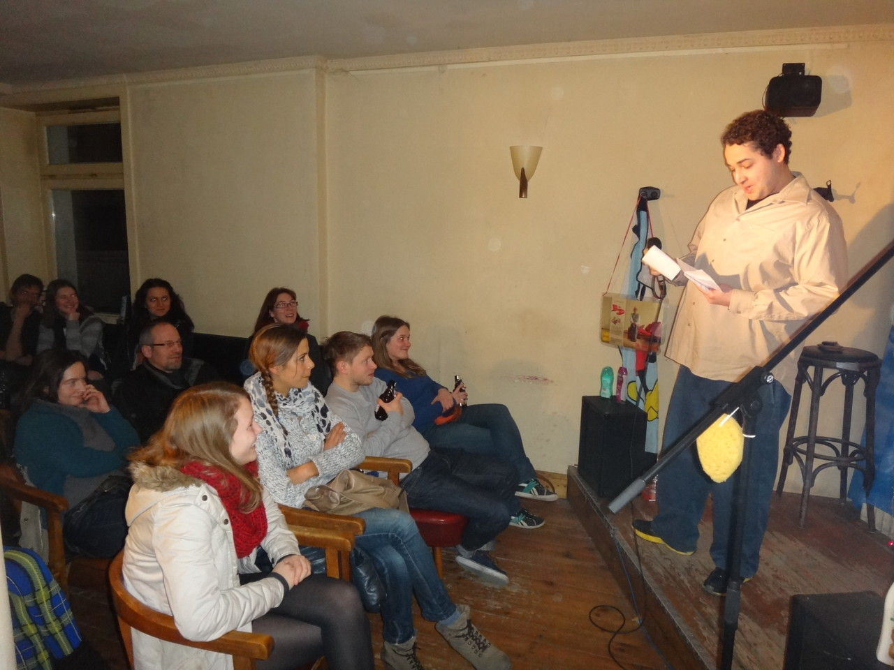 Comedy Dusche in der Mathilde Bar