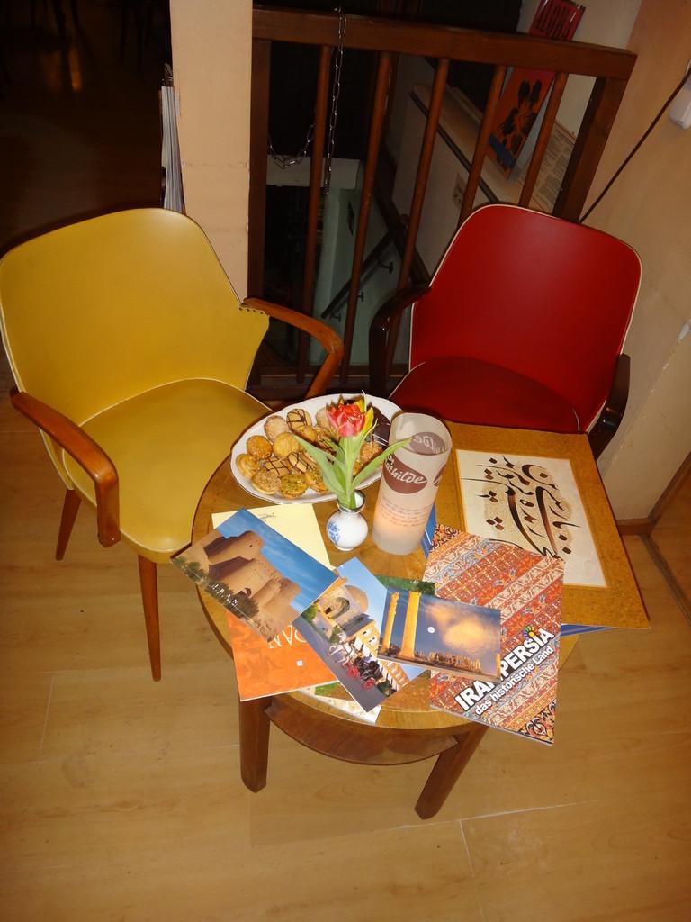 Ein Abend für Omar Khayyam  in der Mathilde Café