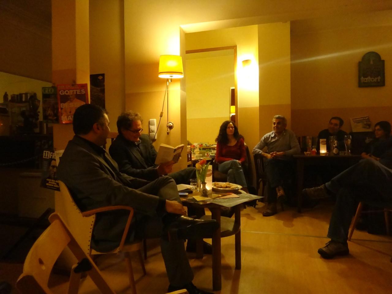 Ein Abend für Omar Khayyam mit Oliver Törner und Hamid Farzangohar