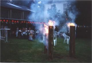 Sommerfest am Bootslager 2000