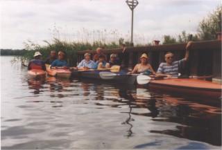 Mecklenburg Sommer 1992 in Zwenzow
