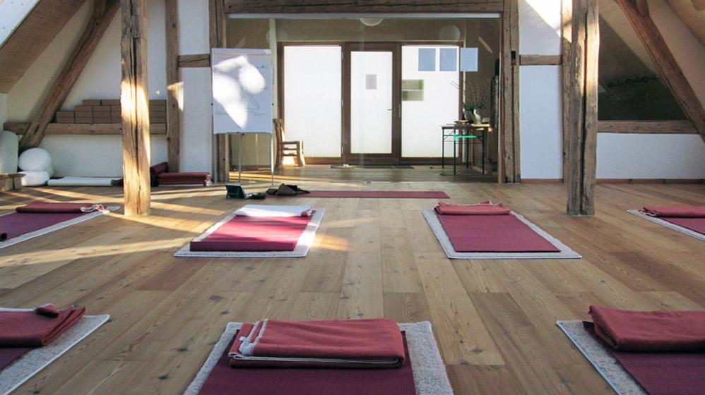 Raum für Yoga und Bewegung