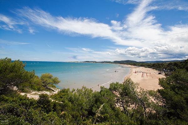typisch italienischer strand