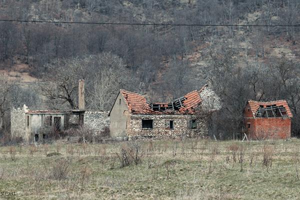 zerbombte Häuser