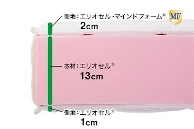 モデルトリノ / 芯材の構造