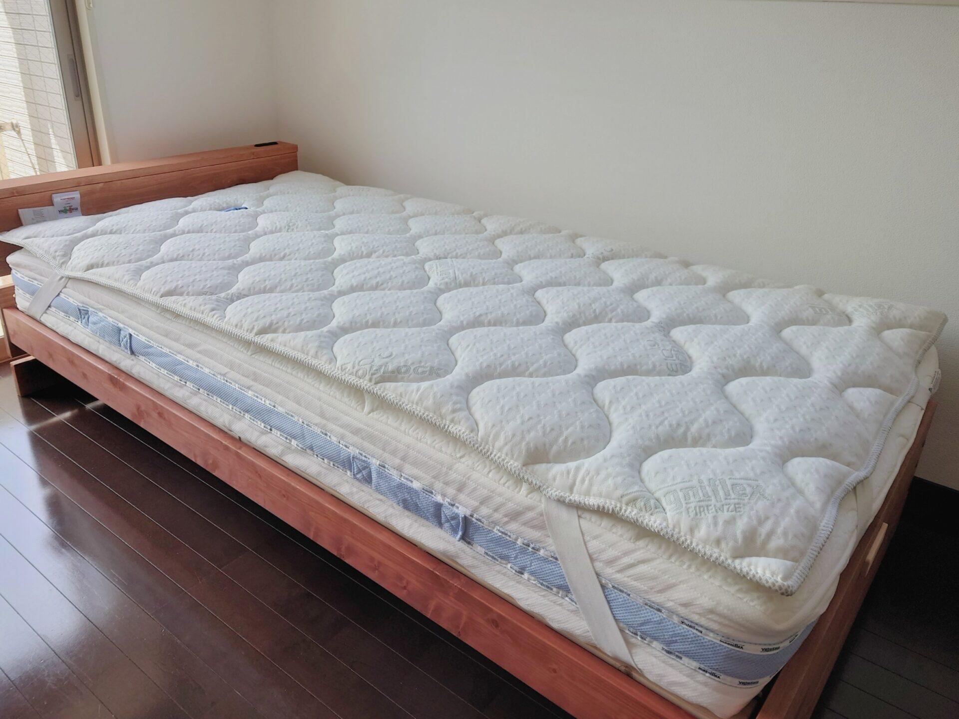オクラホマとヴィロブロックトッパーで格別の寝心地