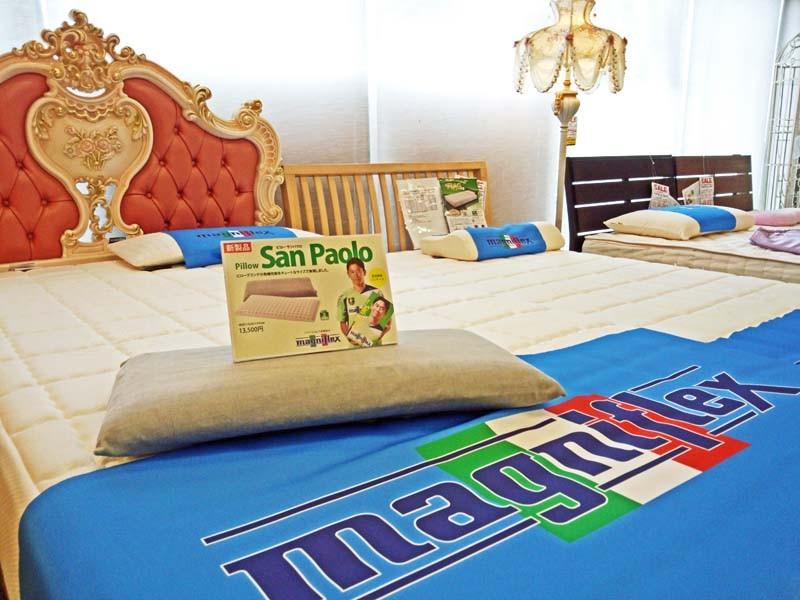 マニステージ福岡は、マニフレックスのマットレス・枕が体感できる専門店です。パレット2階で、マニフレックスをお試しください。
