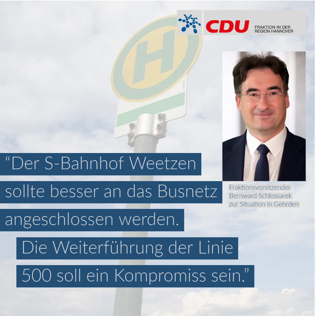 Verkehrsausschuss beschließt Angebot eines Bedarfsverkehrs zwischen Gehrden und Bahnhof Weetzen