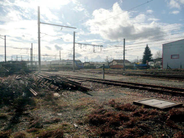 aux alentours de la gare (photo Bruno Cargnelli)