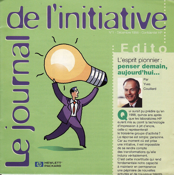 "HP | magazine ""Le journal de l'initiative"""