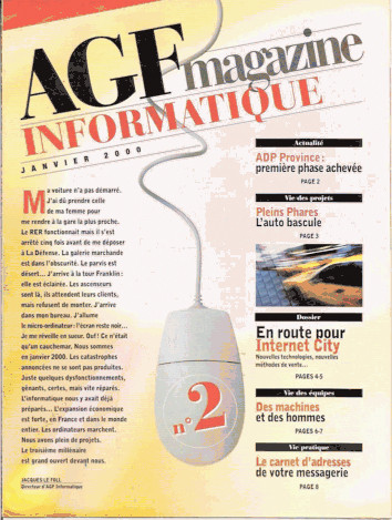 "AGF | magazine interne ""AGF Informatique"""