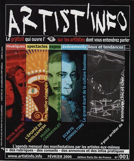 magazine Artist'Info