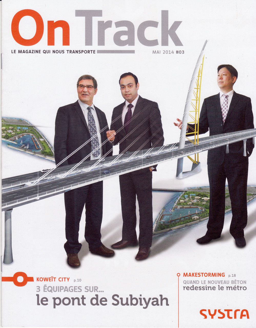 "Systra | magazine interne ""On track"" [fr]"