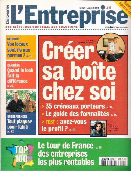 "magazine ""L'entrerprise"""