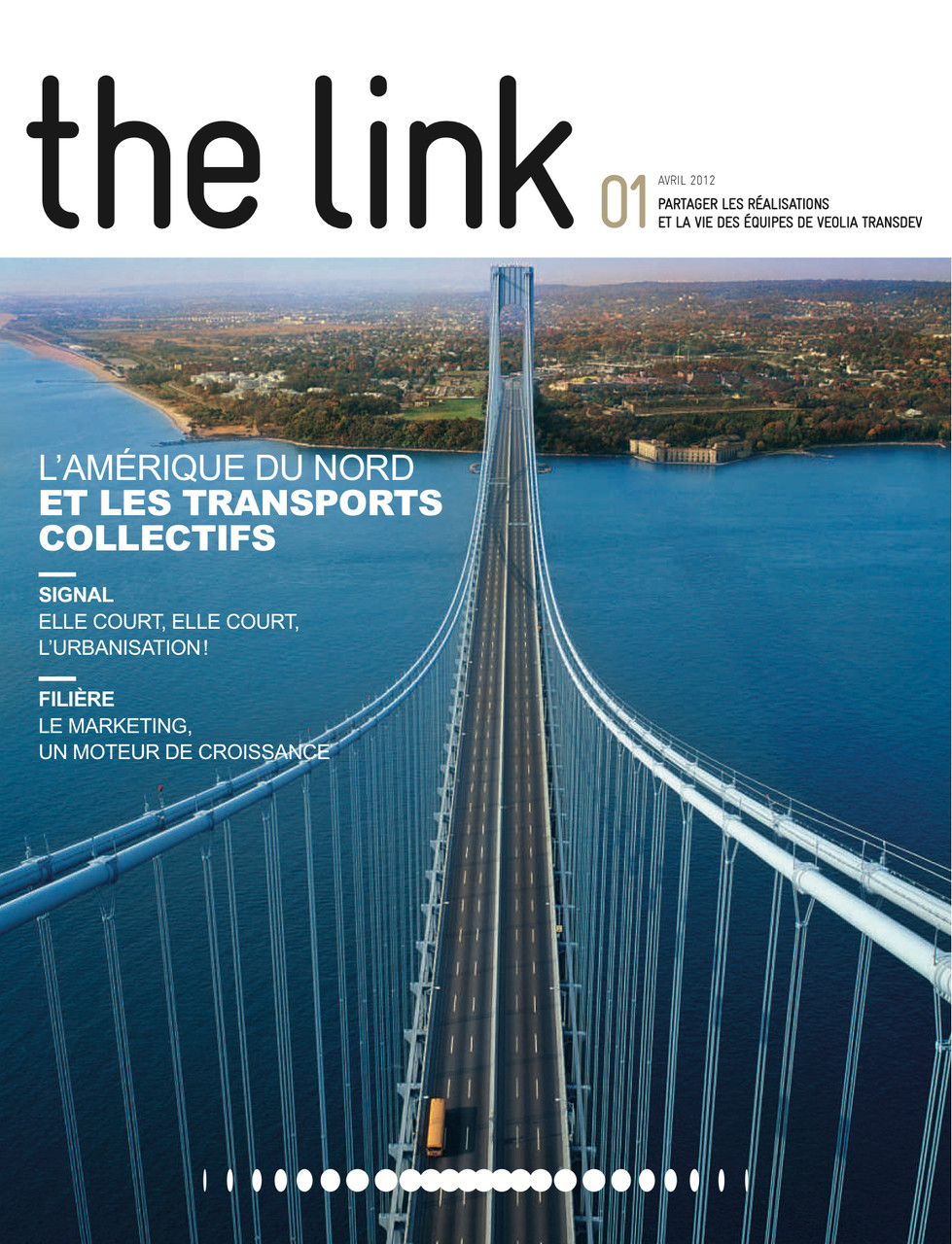 "Veolia transports | magazine ""The Link"" [fr]"