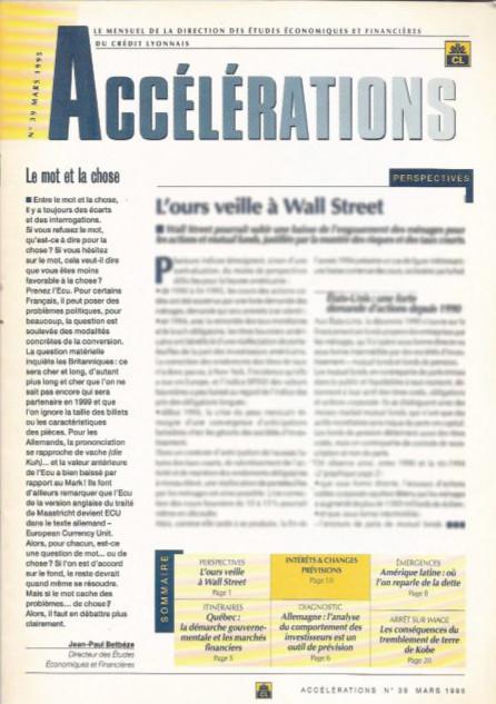 "Crédit Lyonnais | magazine ""Accélérations"""