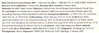 agf magazine mentions légales (ours)