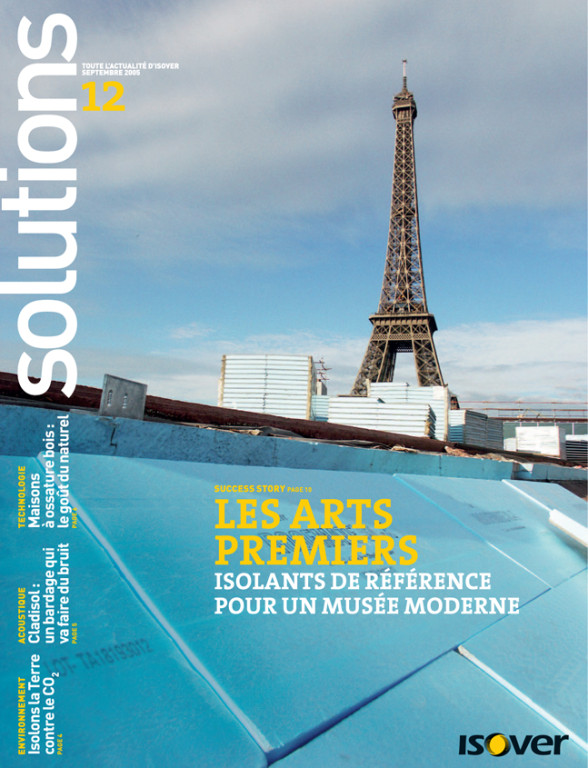 "Isover | magazine clientèle ""Solutions"""