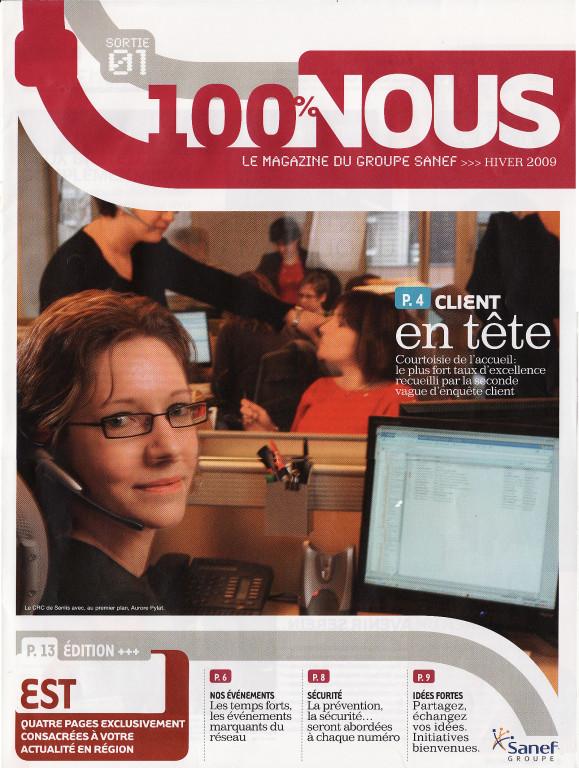 "SANEF | magazine intern ""100% Nous"""
