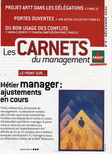 "MAIF | magazine interne ""Carnets du management"""