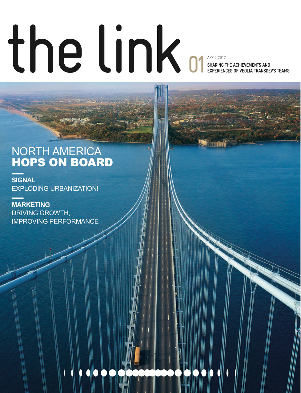 "Veolia transports | magazine ""The Link"" [en]"