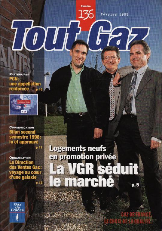 "GDF | magazine ""Tout Gaz"""