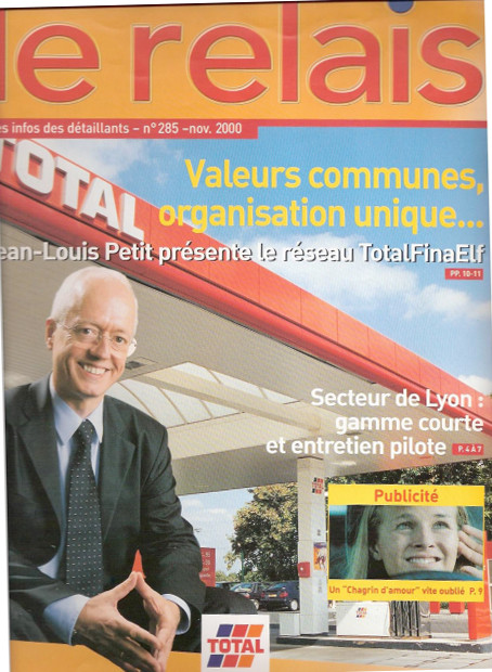 "Total | magazine interne ""Le Relais"""