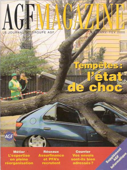 "AGF | magazine interne ""AGF Magazine"""
