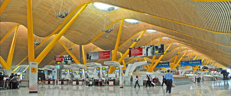 Terminal 4 Aeropuerto Adolfo Suarez Madriz Baraja. Imagen: Web AENA