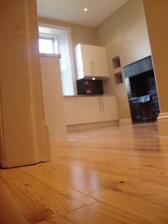 After - New Oak flooring throughout