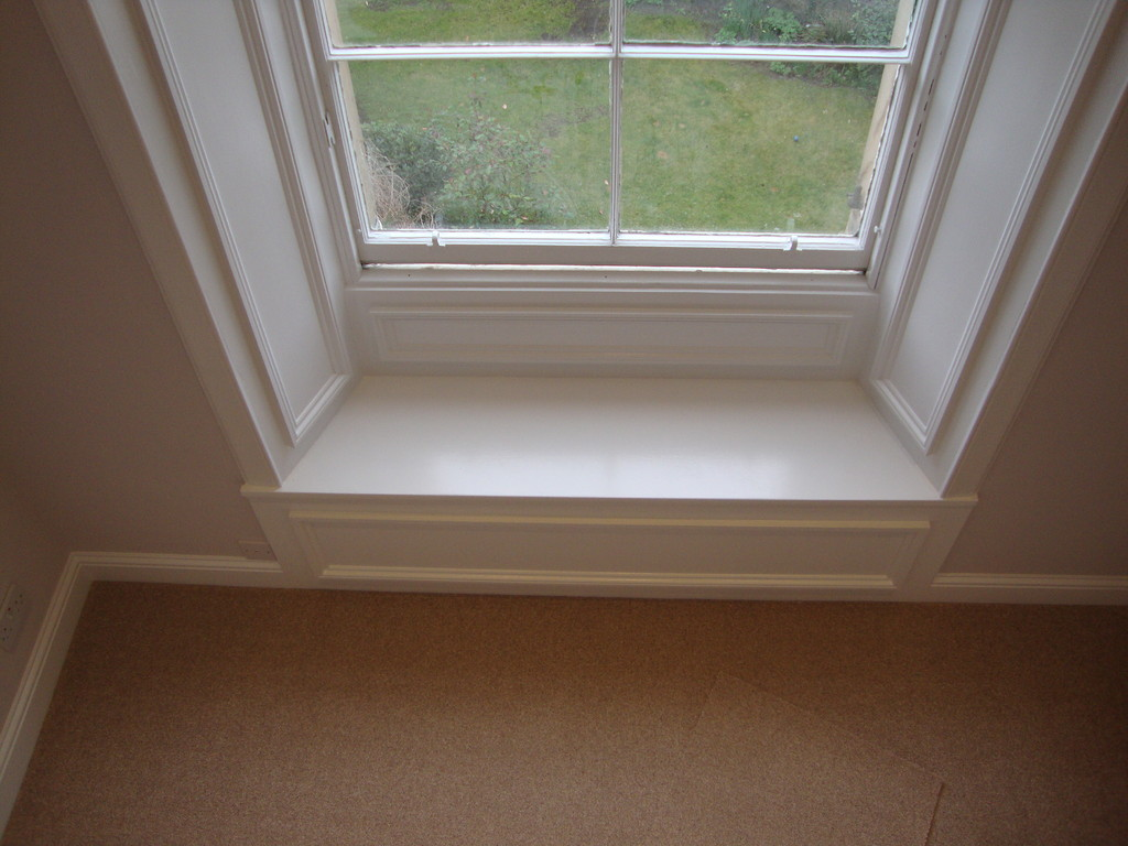 New window seat - Master bedroom