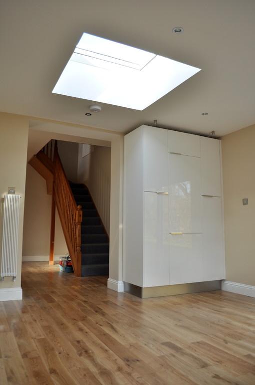 New solid wood oak flooring