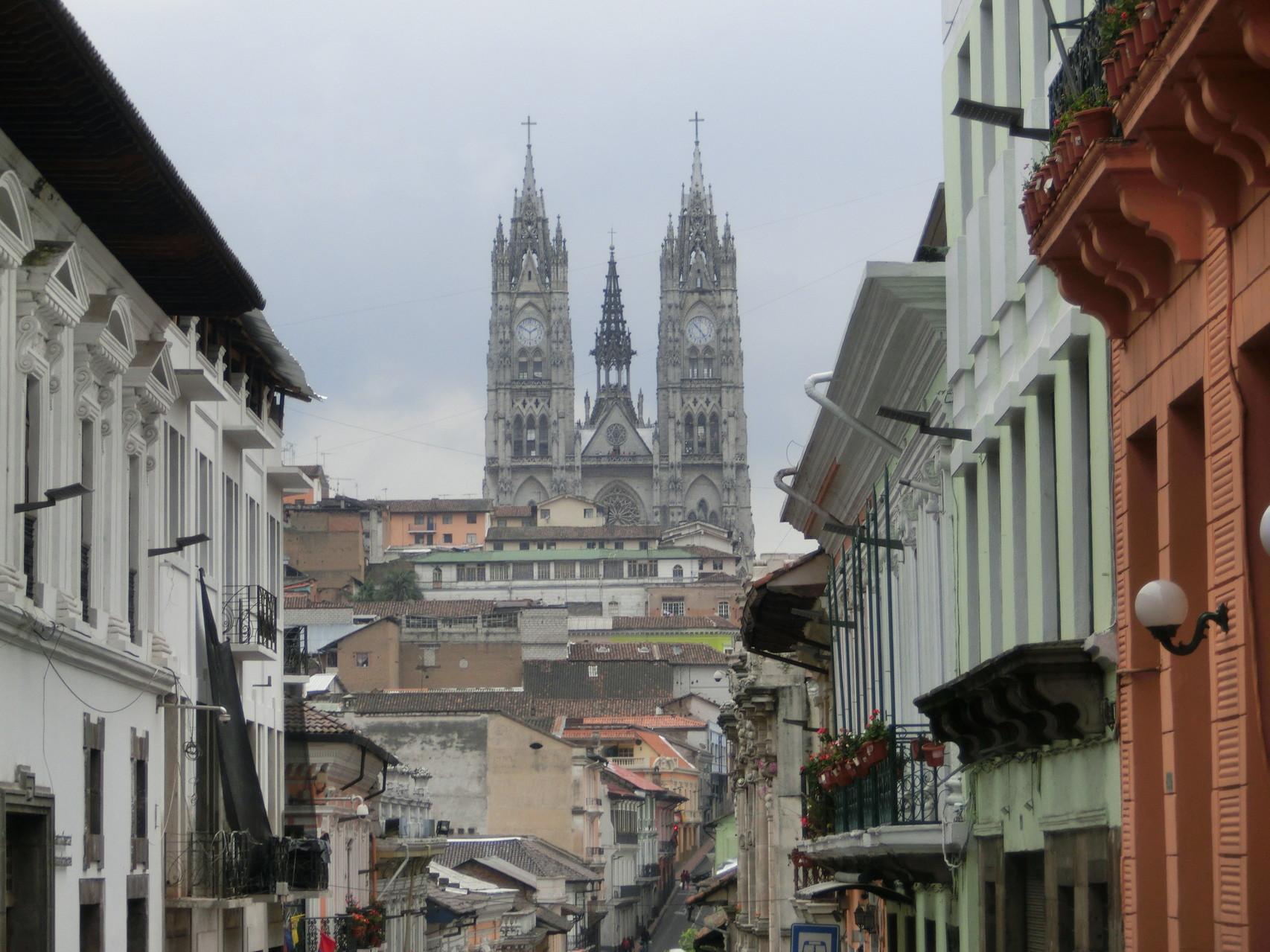 DIE Kathedrale von Quito