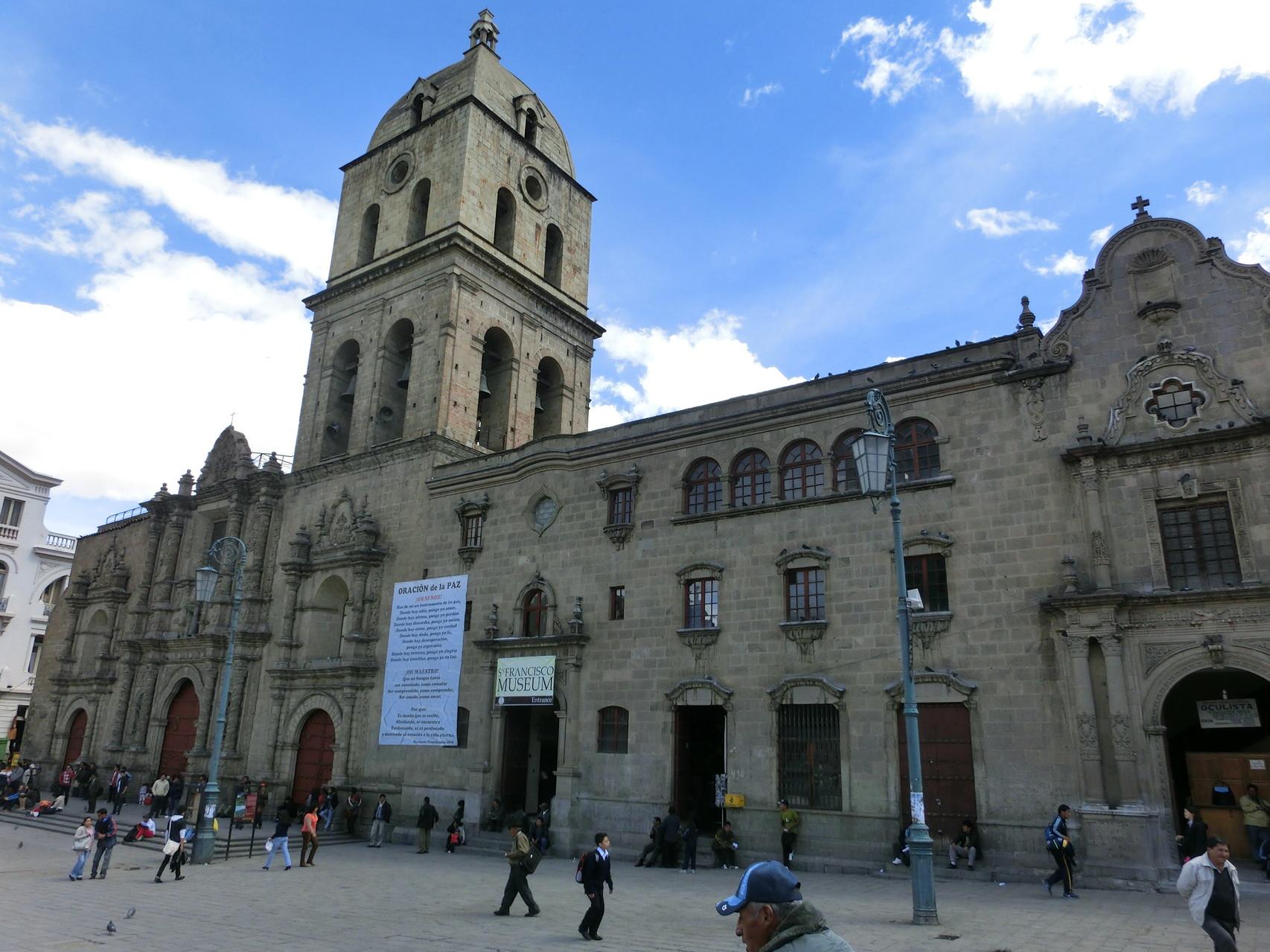 Die Iglesia San Franzisco ...