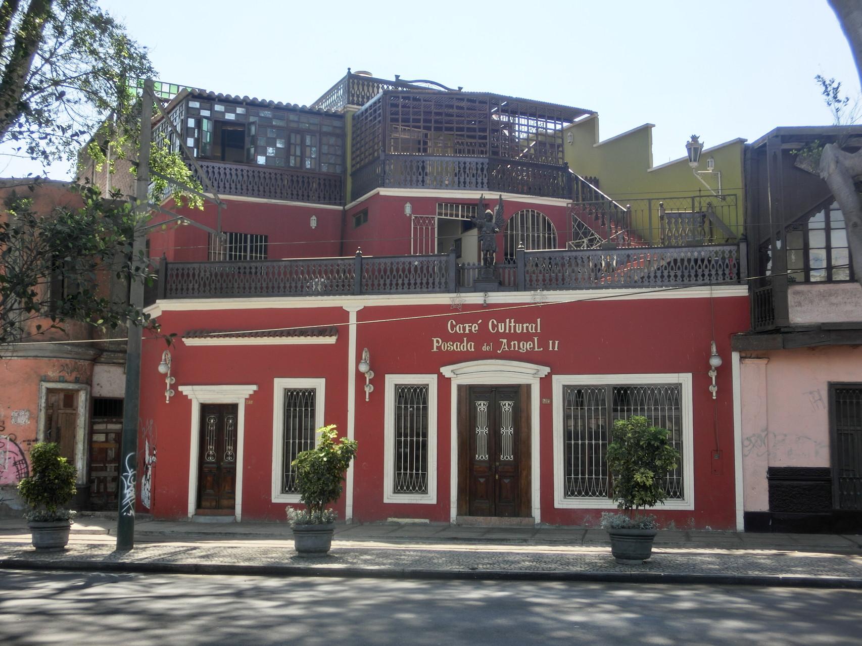 ... alter Kolonialhäuser