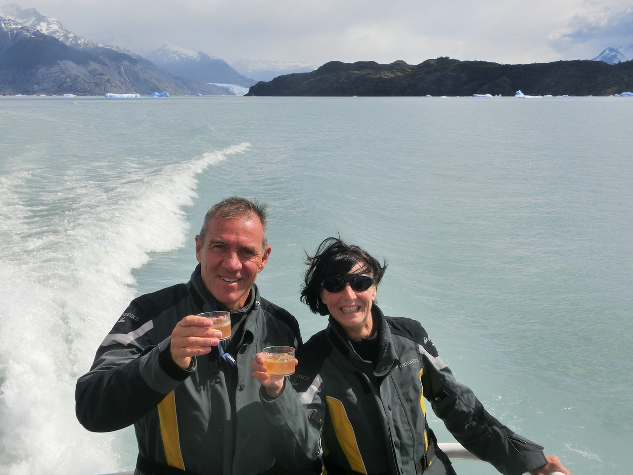 Whiskey on Patagonian Ice