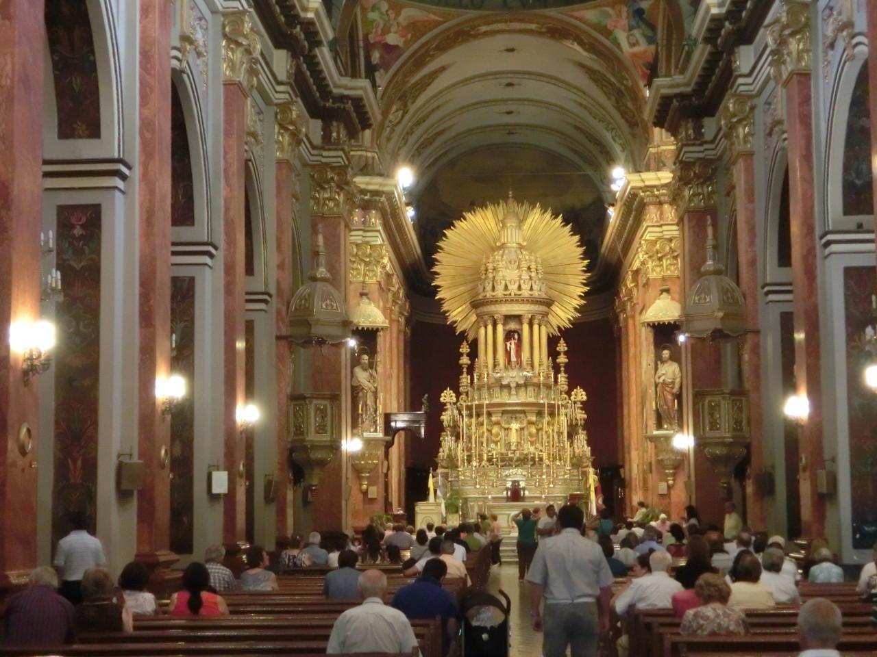 Die Katedrale von Salta innen