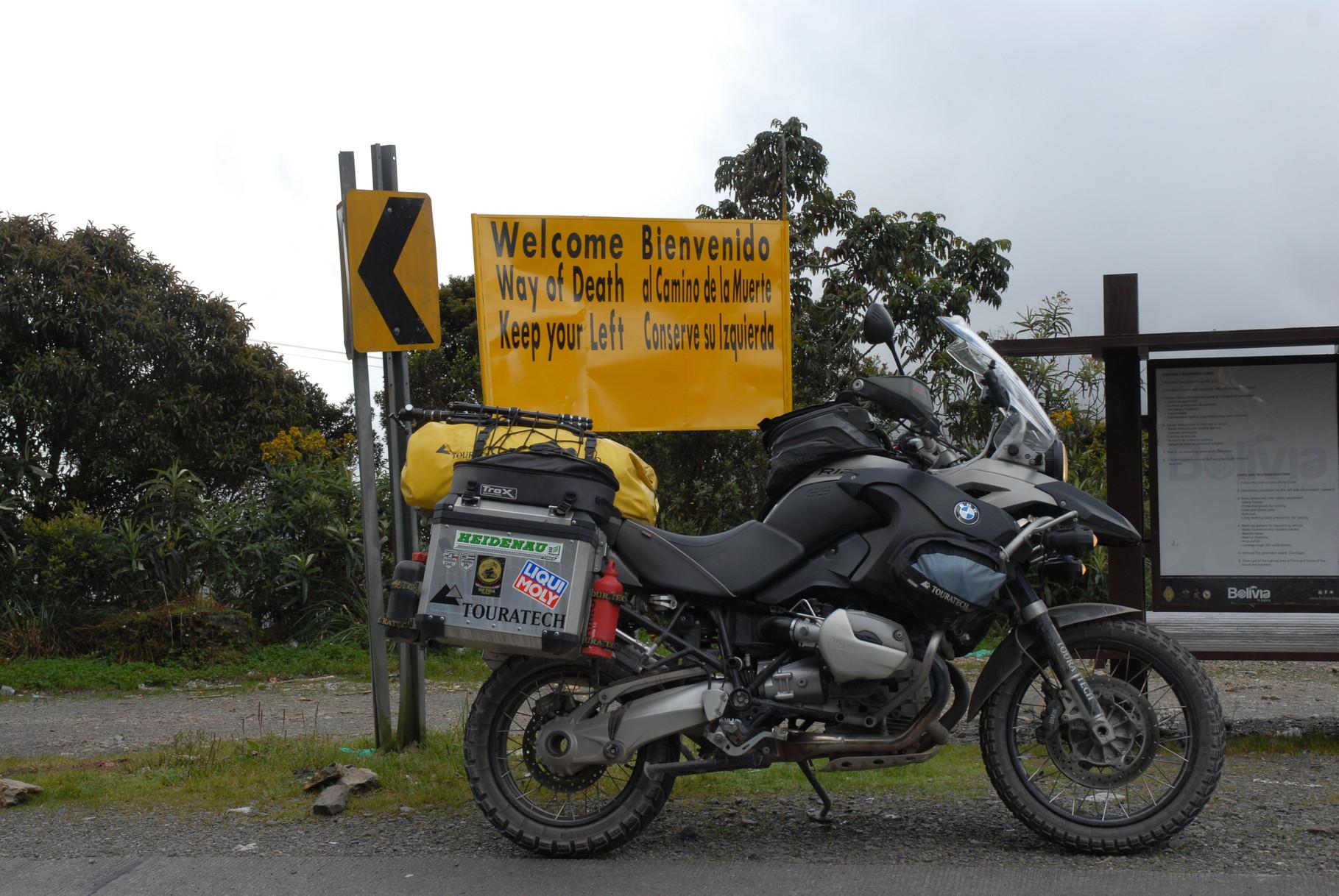 """""""Straße des Todes (Camino de la Muerte)"""""""