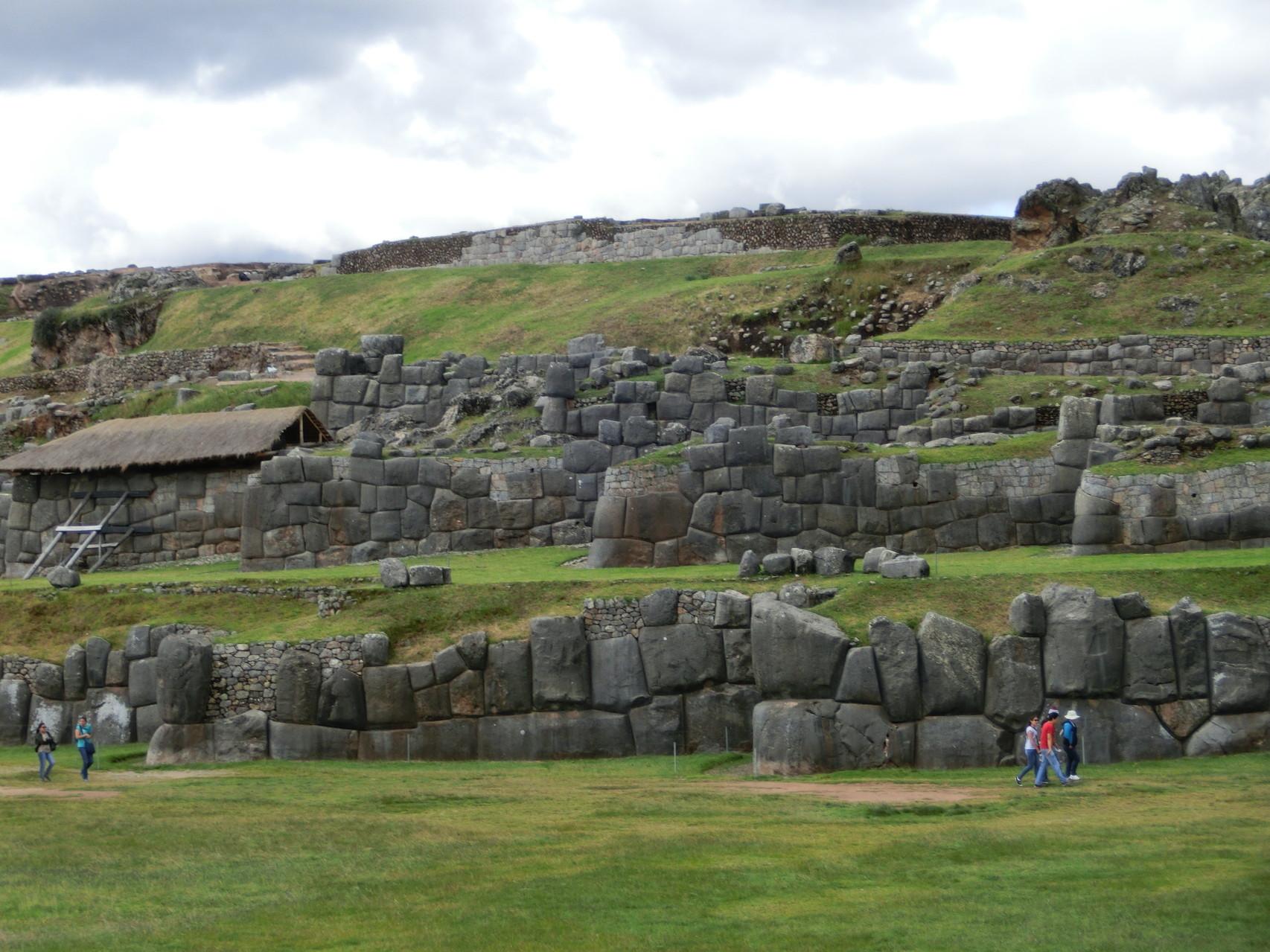 Saqsaywaman, eine alte Inkastätte oberhalb von Cusco