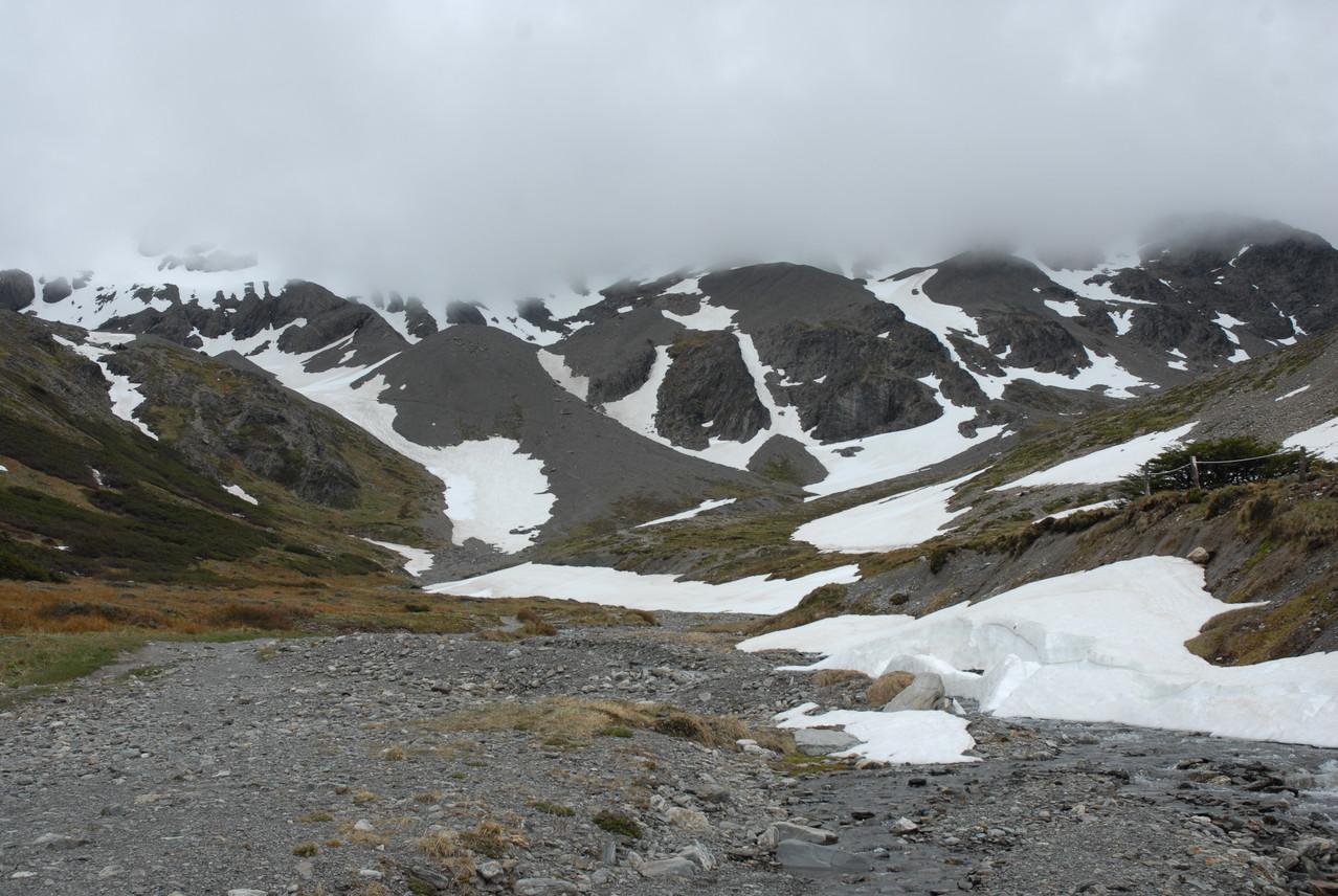 ... und auf den Gletscher