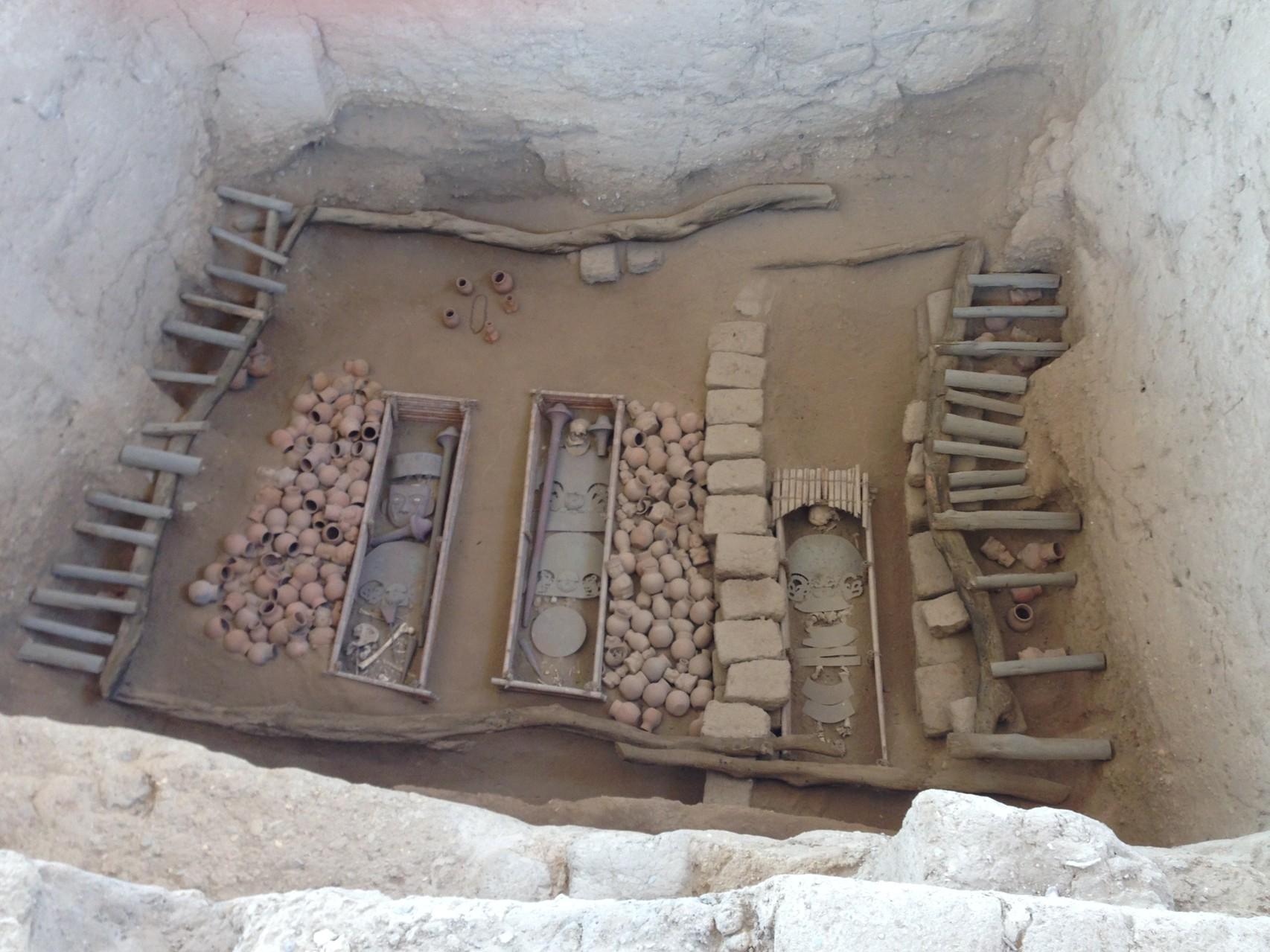 Das Grab des Militärbefehlshabers