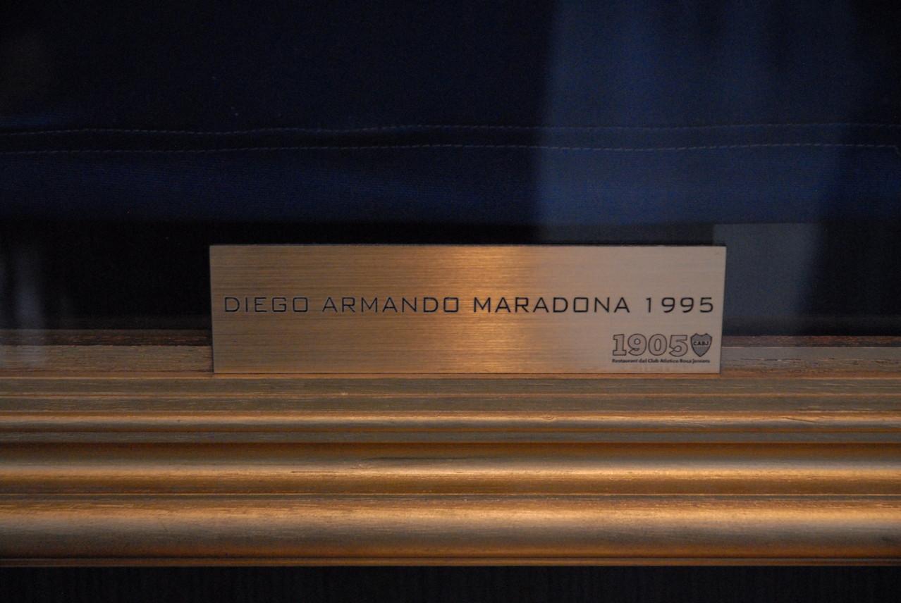 Der wohl bekannteste Spieler, der bei Boca gespielt hat