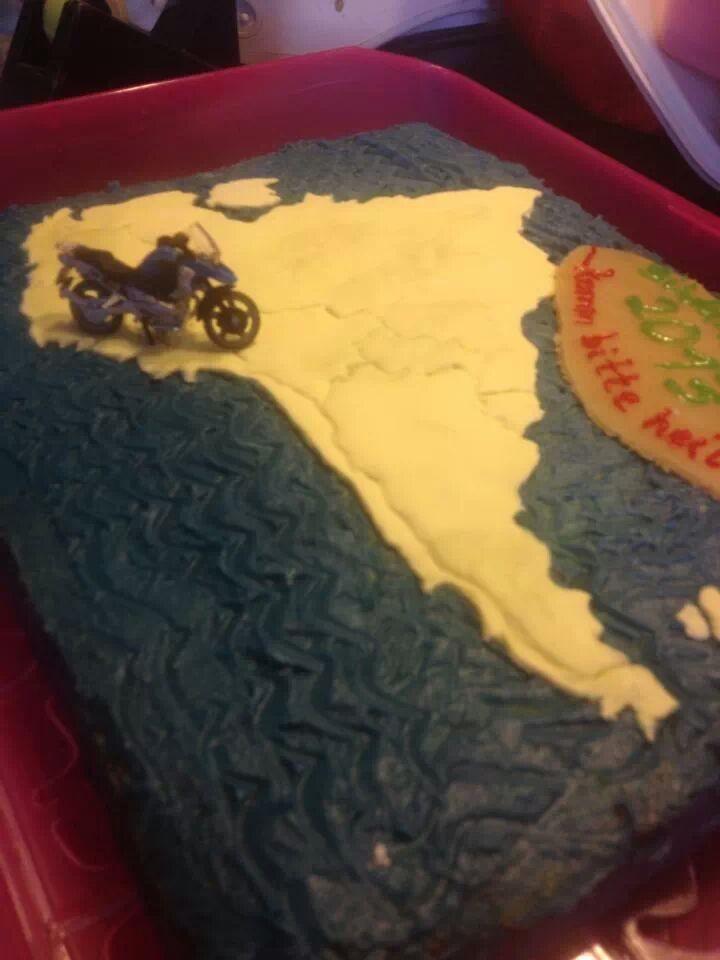 Auch so können Kuchen aussehen ... ;-)