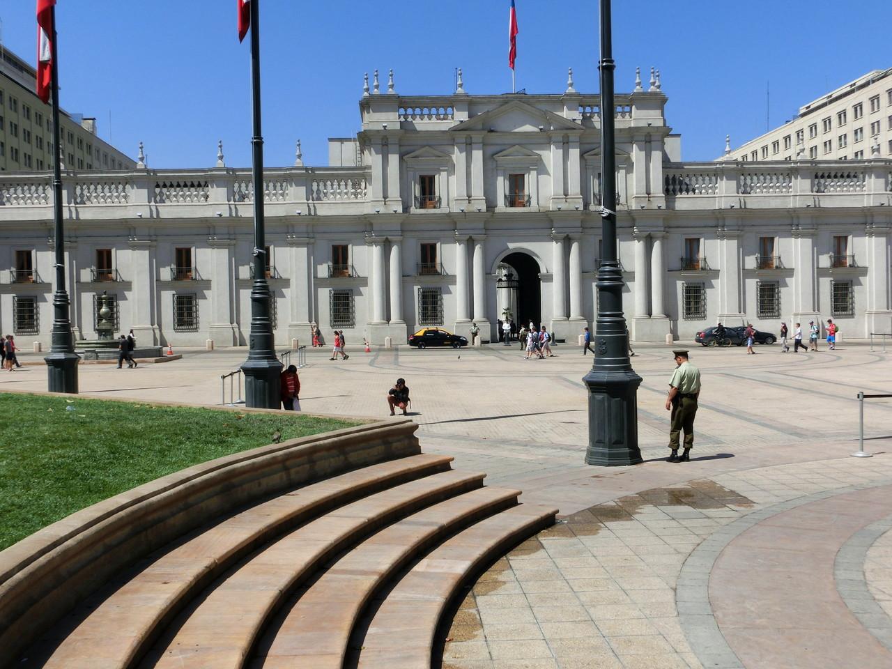 Der Plaza de Armas...